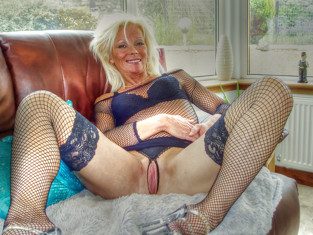 Hot mature grandma