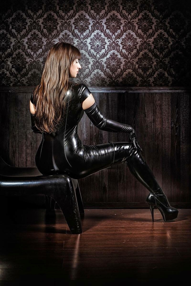 High Leather Boots Womens