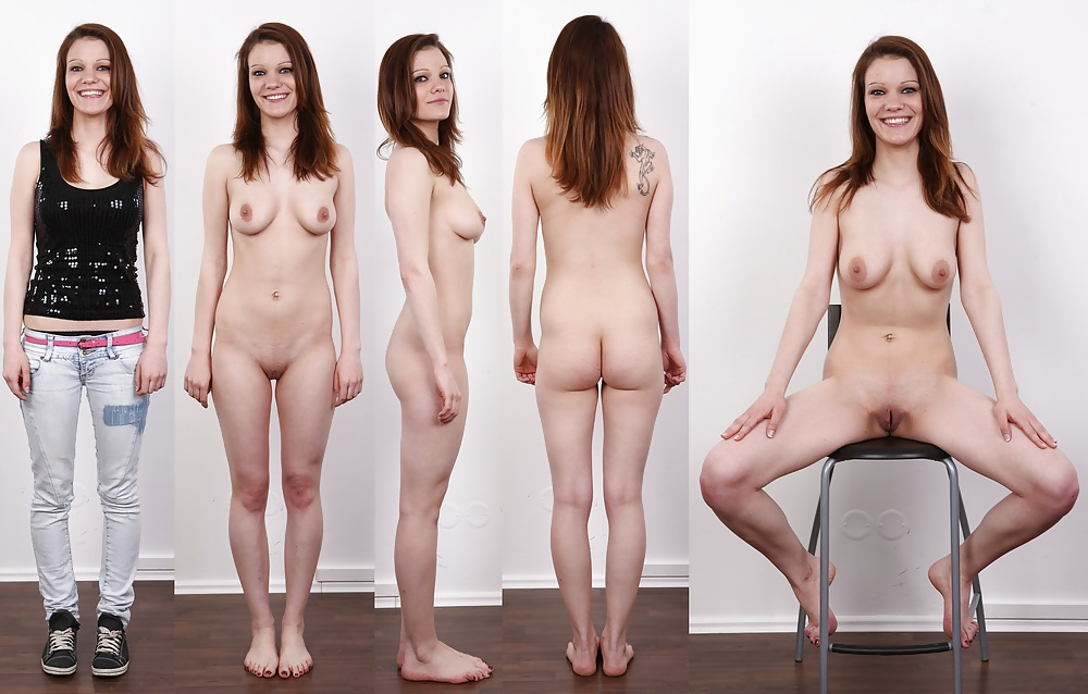 Naked college girls clothed unclothed