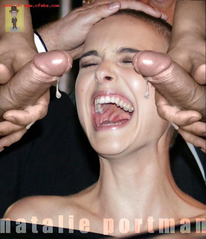Premium Bukkake Natalie Portman