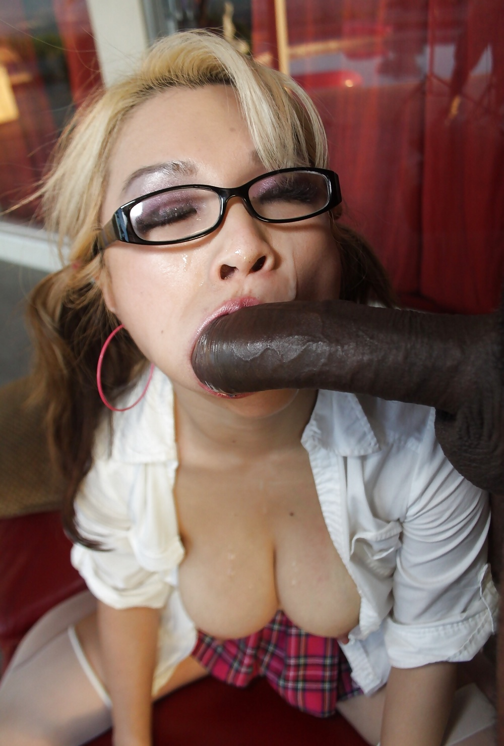 Asian Fucking White Girl