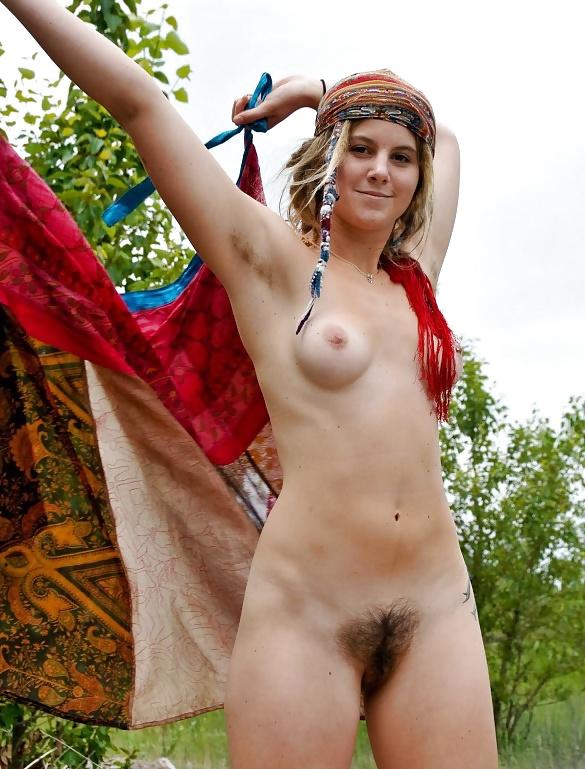 Hairy Nude Hippie Girls Are Singing, Free Porn Da