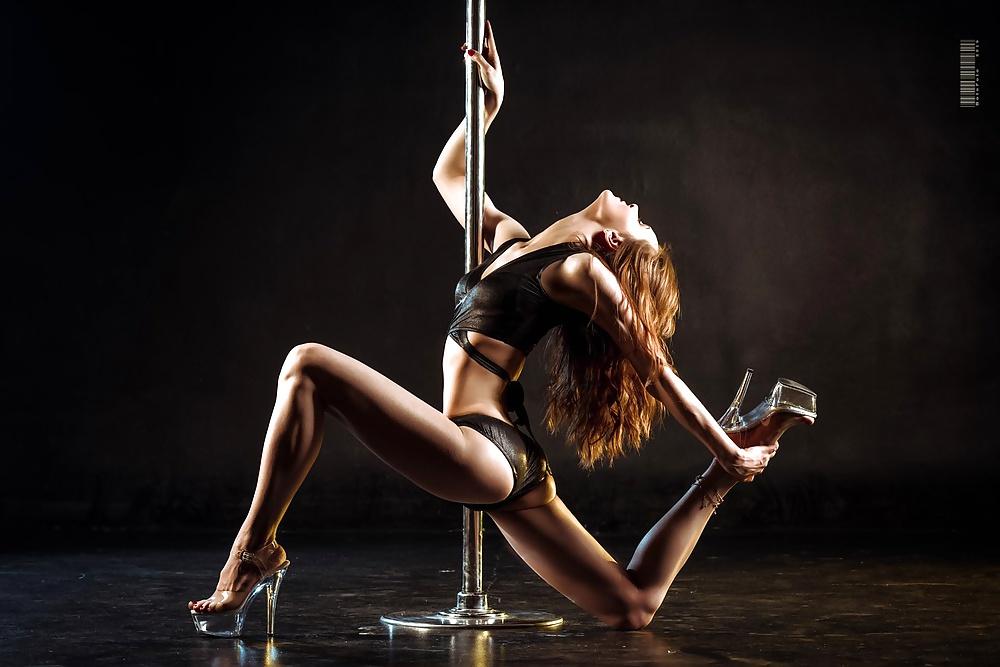 Sexy Girls Dancing Stock Photo