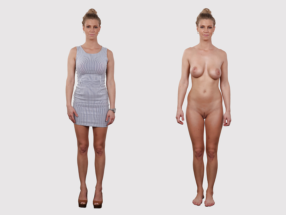 Free clothes on and off nude women