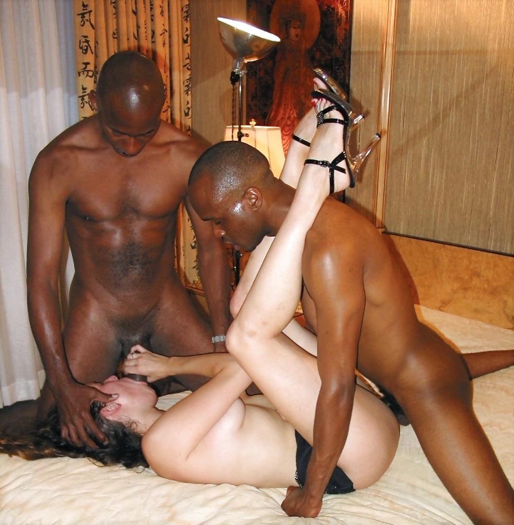 Hot black naked ametuer wife