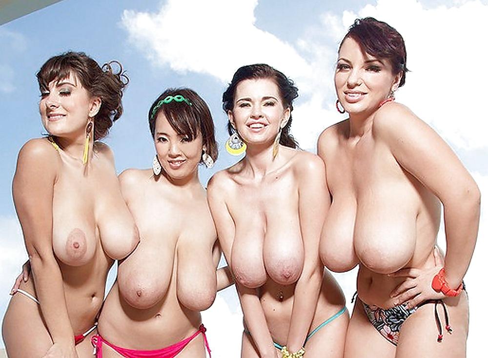 Yuuka minase asian and nude busty gals stroke