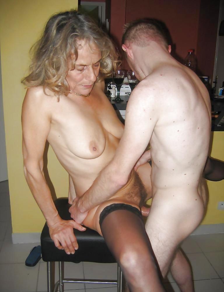 Grandma fucks with grandson very cool porn