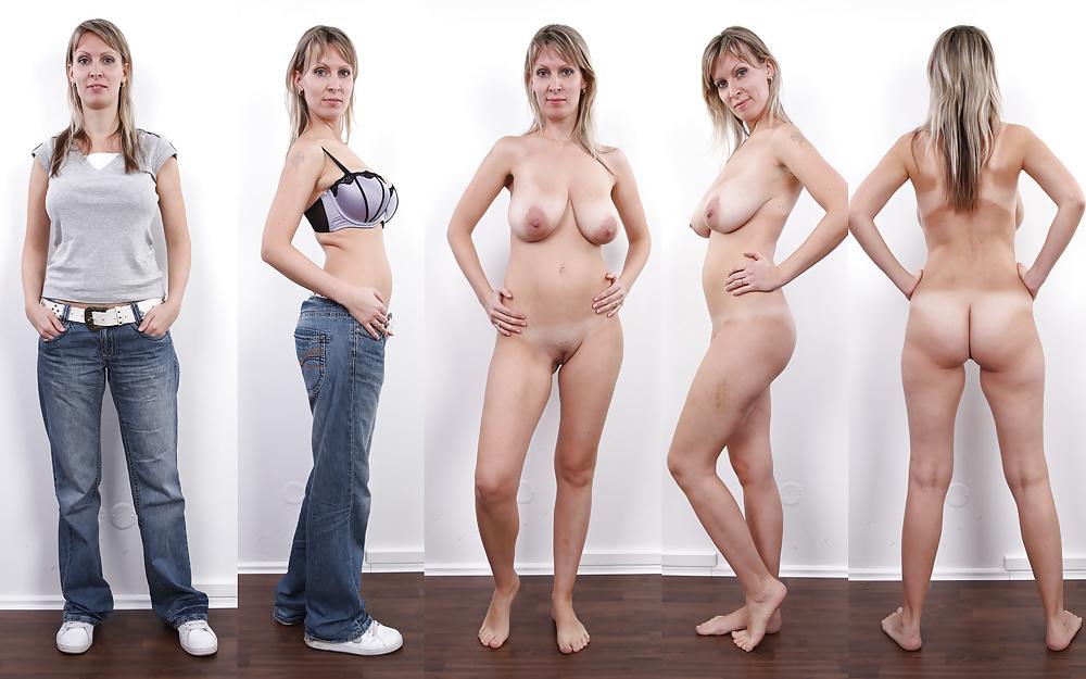 Девчонки снимают одежду