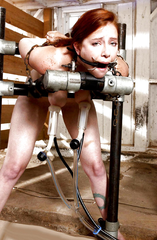 Секс машина с доильным аппаратом
