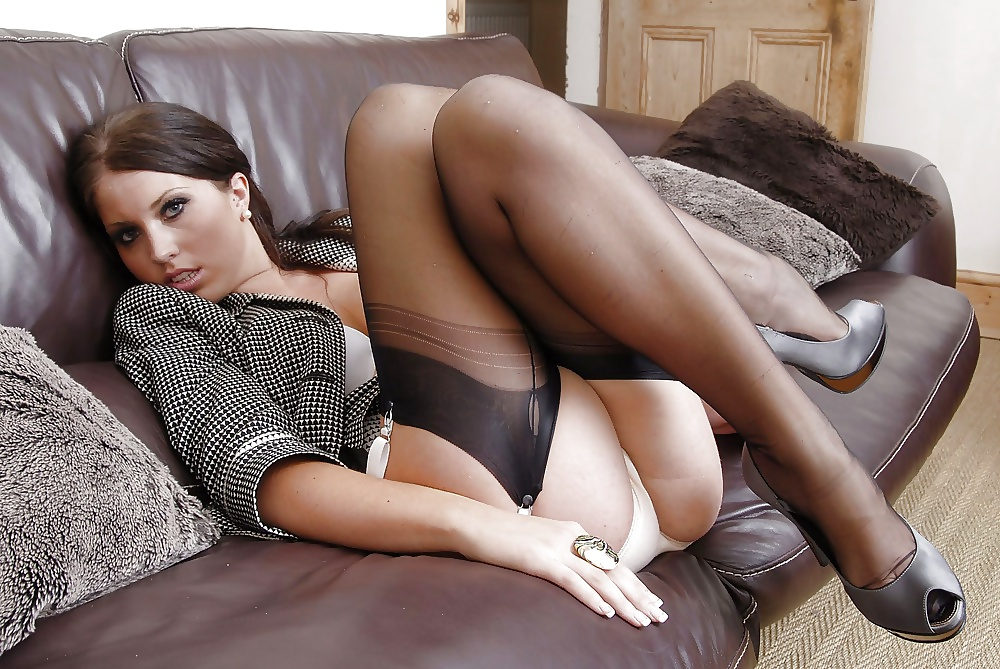 Hot pantyhose girls, erotic present for wife