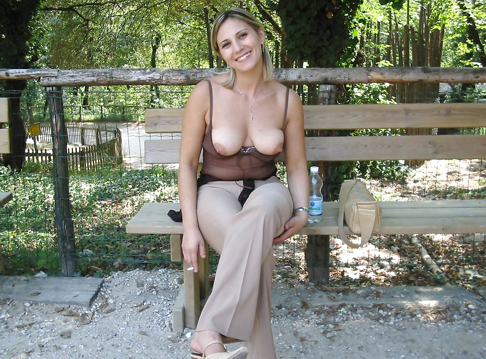 Public nudity, exhibition, flashing sexy girls collection
