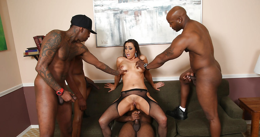 Interracial gangbang porn, nude guy in chair playgirl