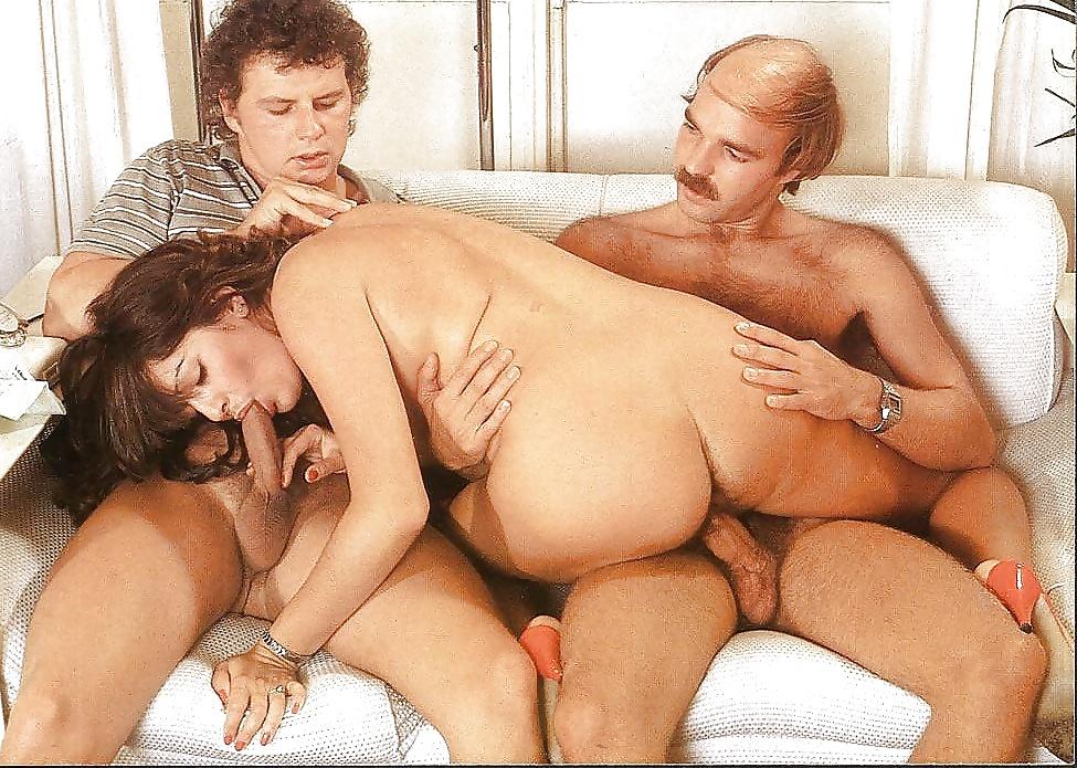 Retro threesome photo galery free vintage threesome porn