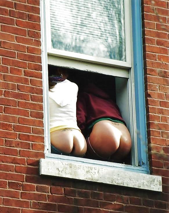 Exhibitionist neighbor across the street