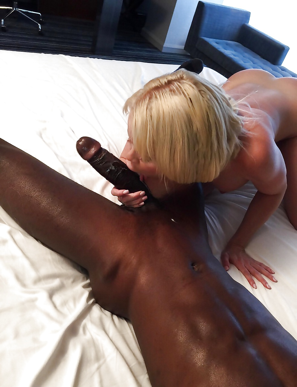 Worship a big black dick