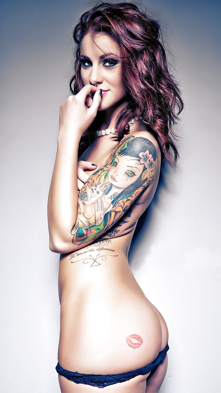 Sweet naked womens sexy tattoos