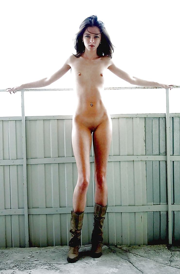 Skinny old nudes