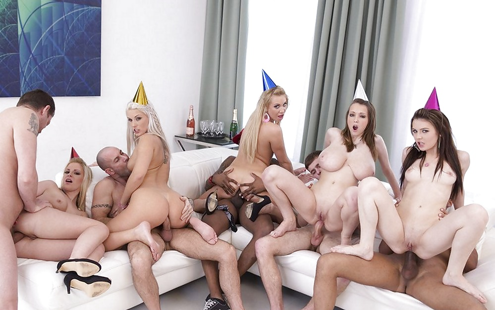 Watch huge brazilian ass orgy