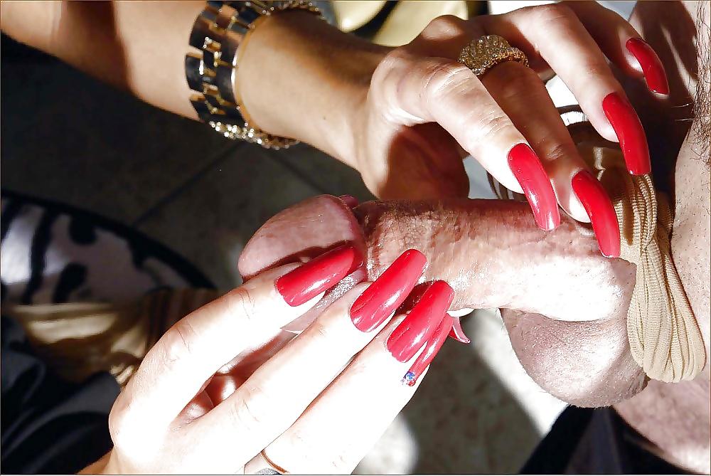 Long nails blowjob cum free porn galery
