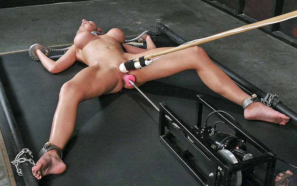 Clit rope forced orgasm