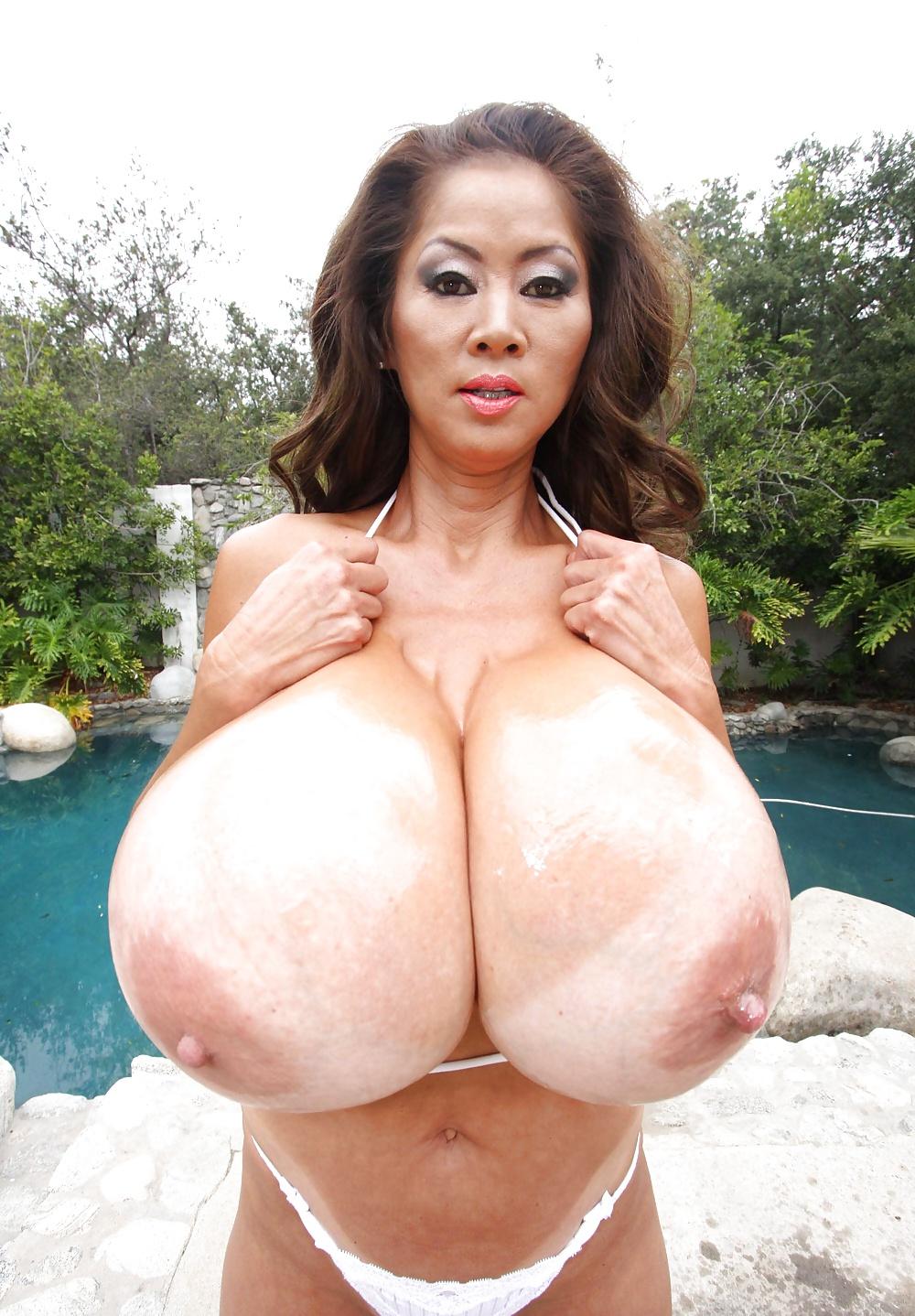 Big Fake Boobs Asian