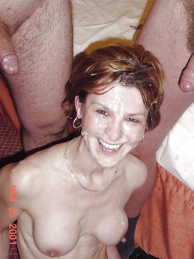 Mature facial naked women — pic 13