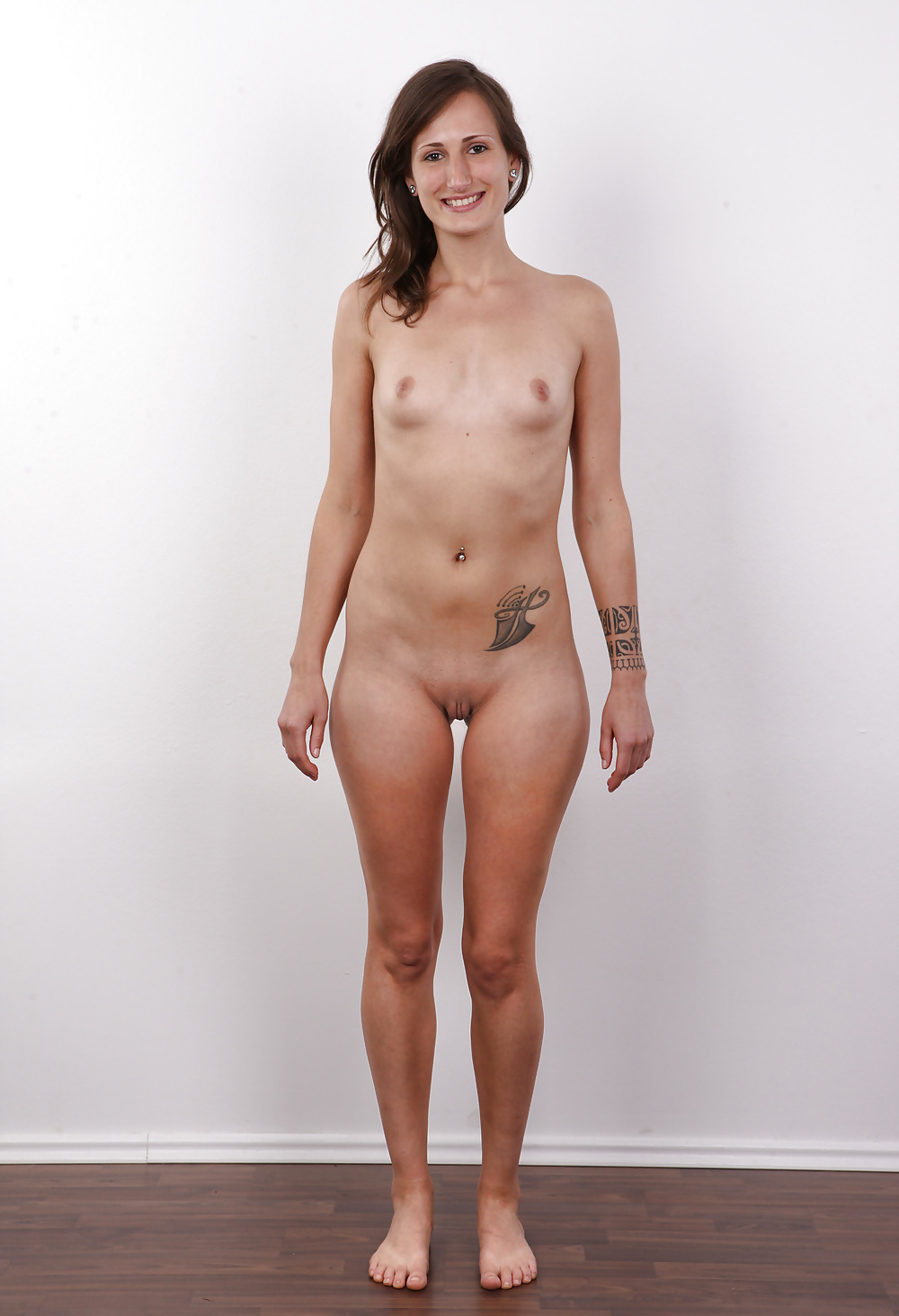 Can Girl Teen Standing Naked Are
