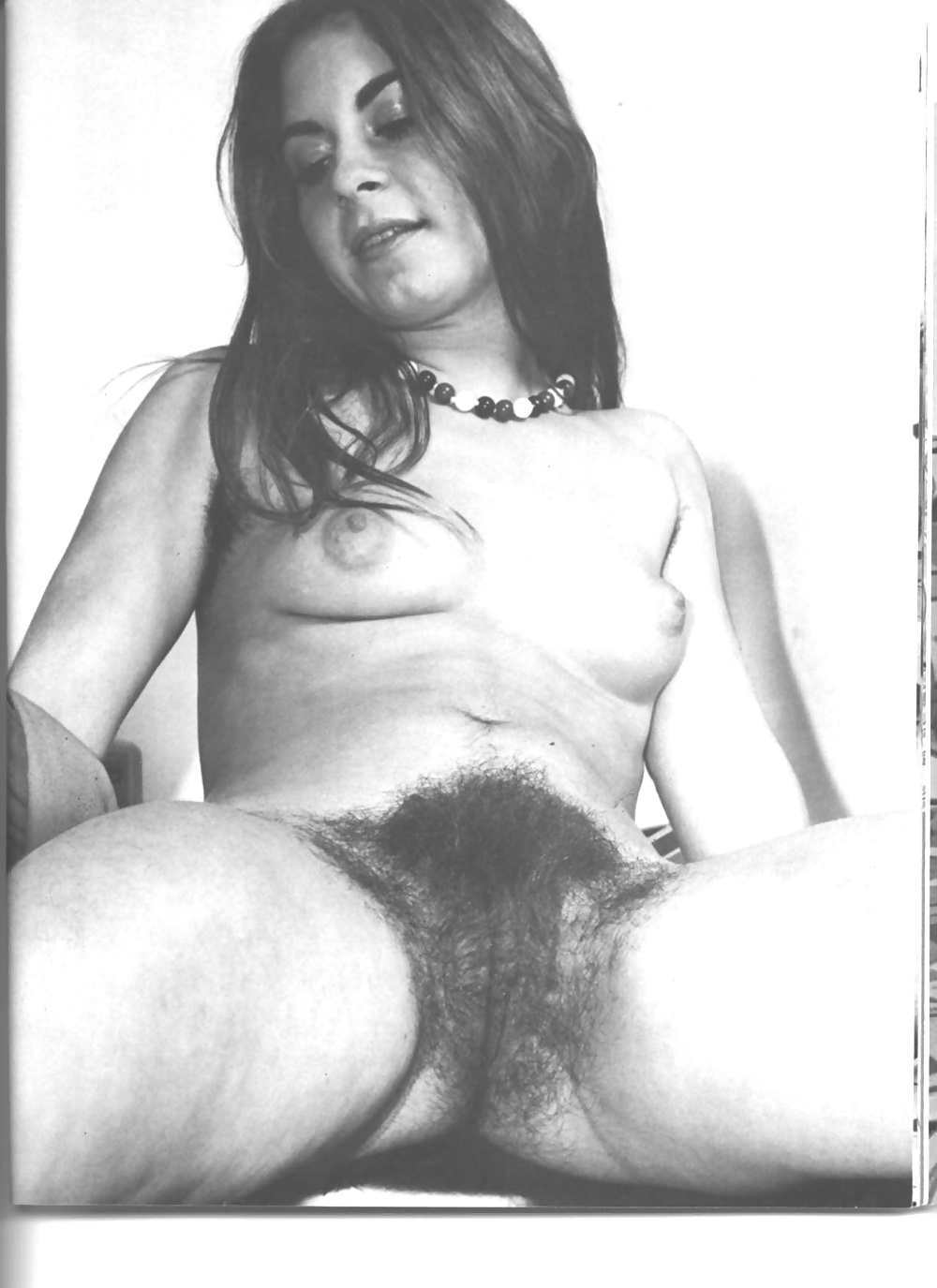 Naked hairy pussy in village