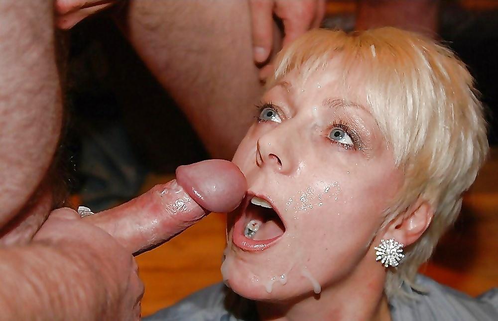 Big blonde mature