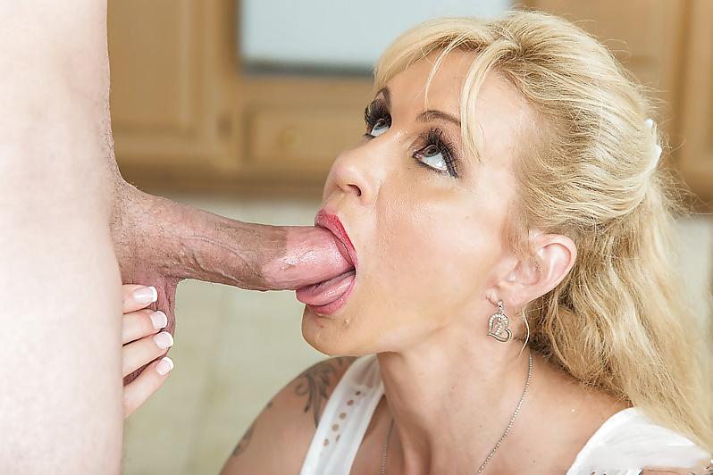 Mom on my dick