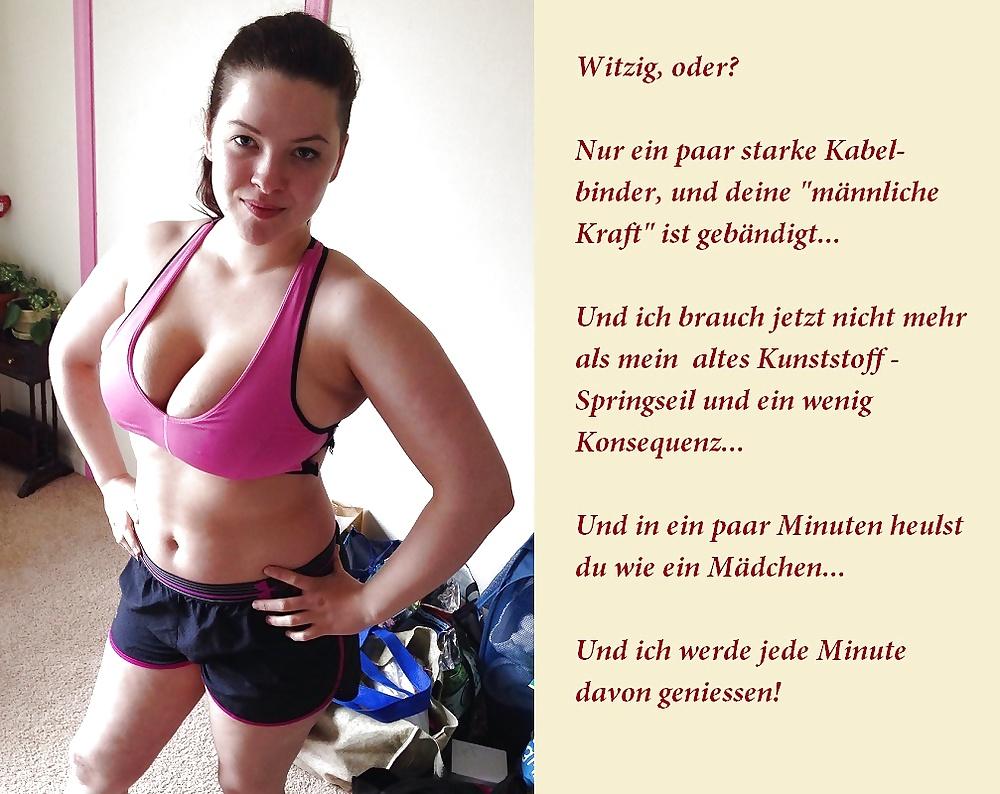 Deutsch - Submissive German Slut Fucked