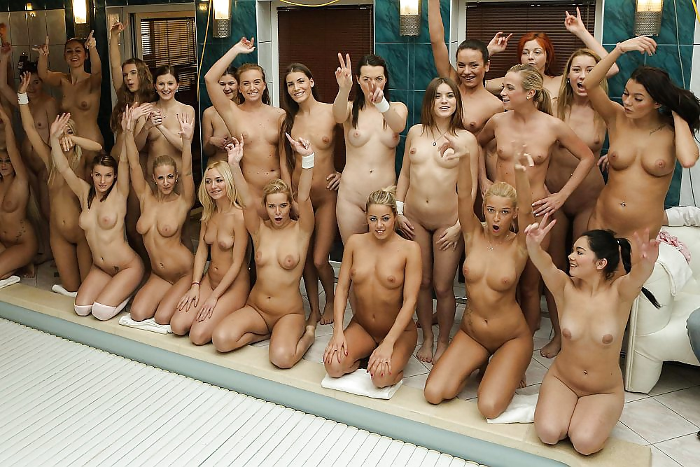 Teen birthday girls nude