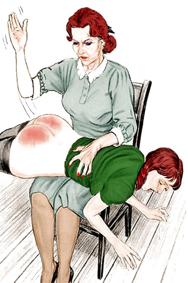 Erotic otk spanking