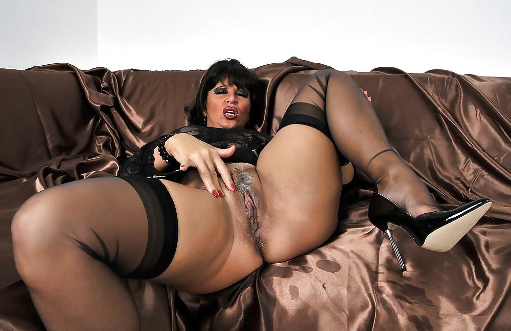 Mature Women In Stockings, Mature Porn Pics