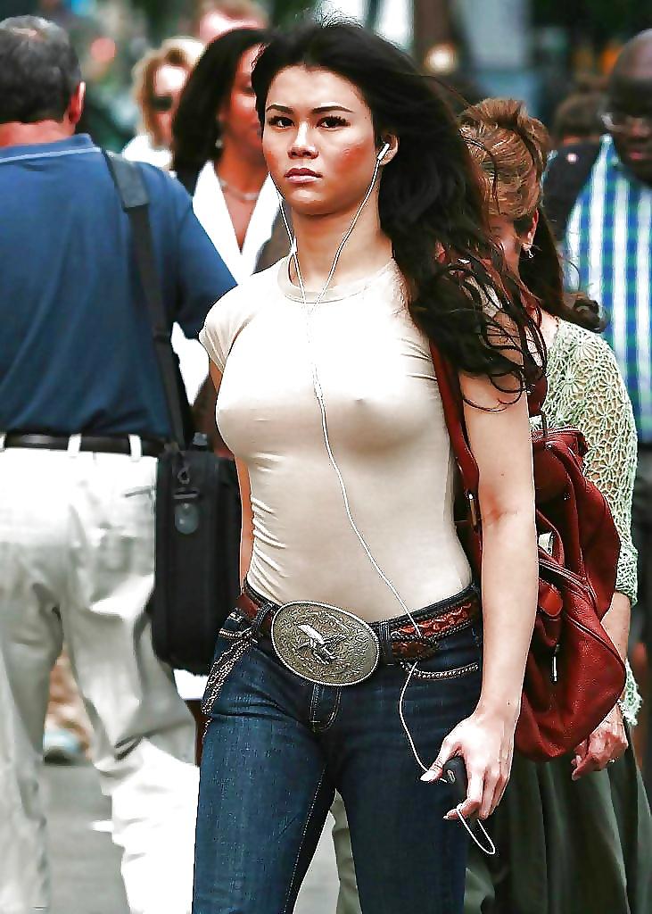 See nipples through t shirt pics