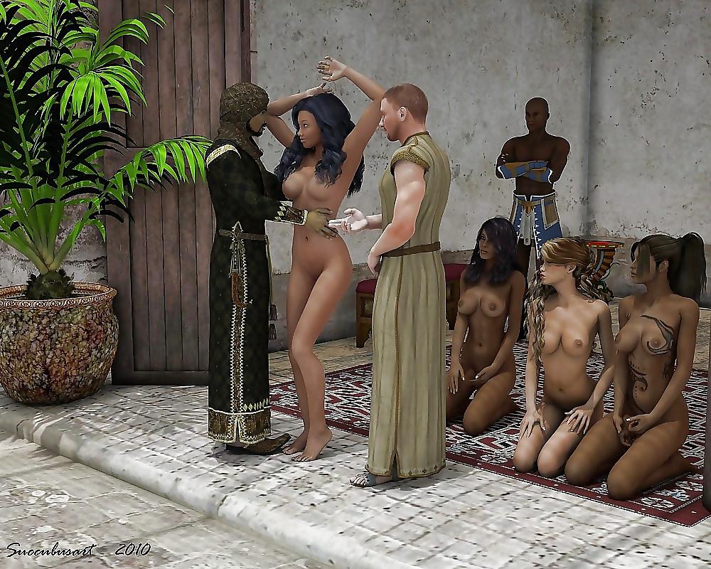 Nued slaves — photo 15