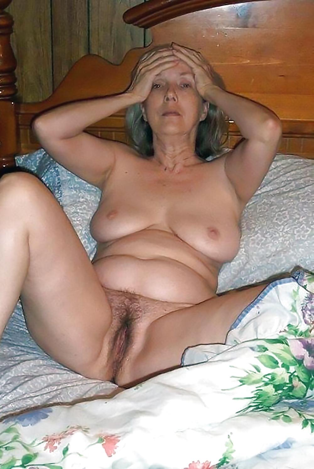 Фото жен голых старых