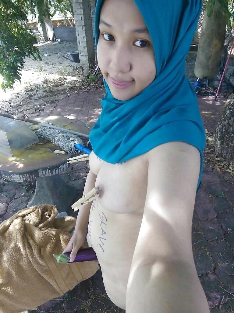Girl indonesia hijab sexy