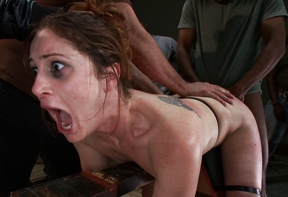 Forced hard sex
