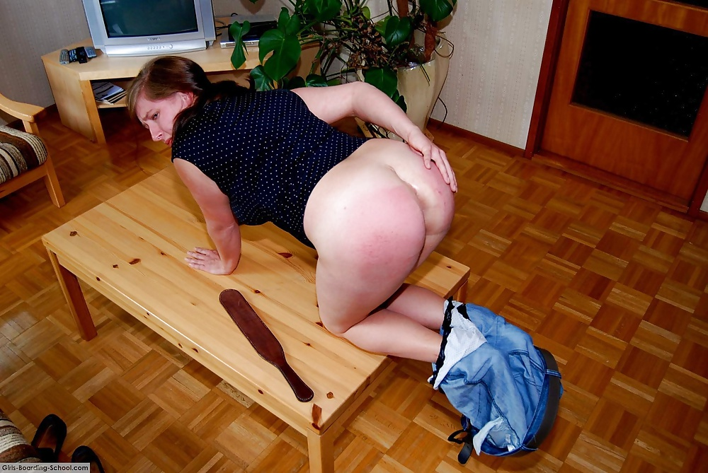 The spanked wife plans to spank her husband
