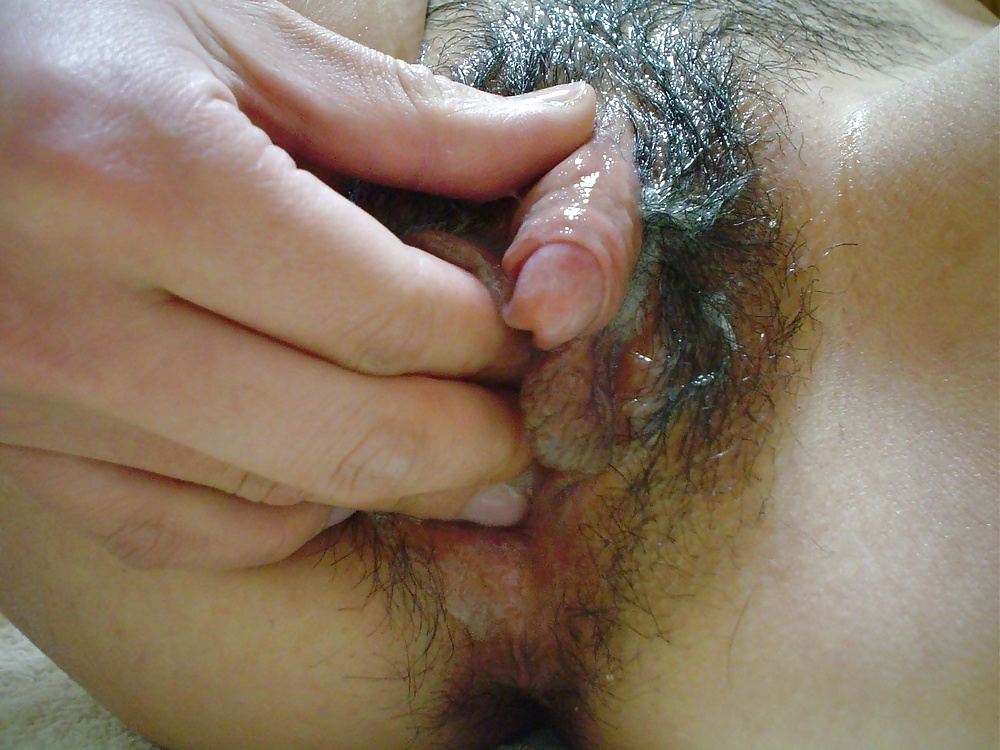 Asian big clit masturbation