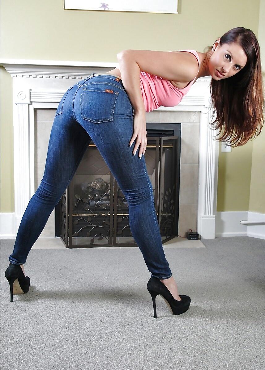 Pornstars wet jeans