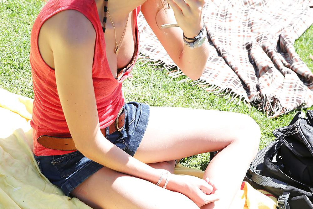 Down shirt teen pics