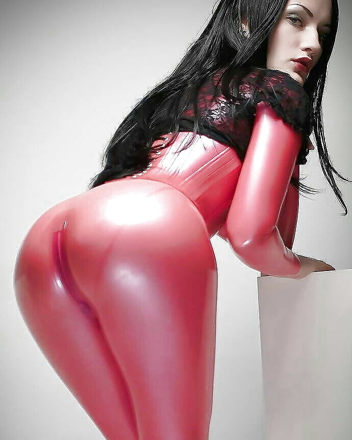 Sexy hot red cat suits