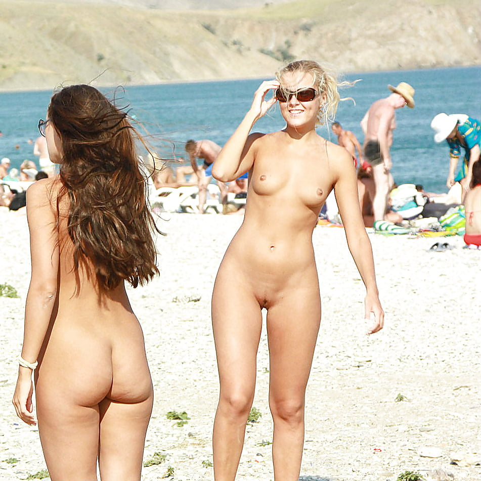 Naked at the beach galleries
