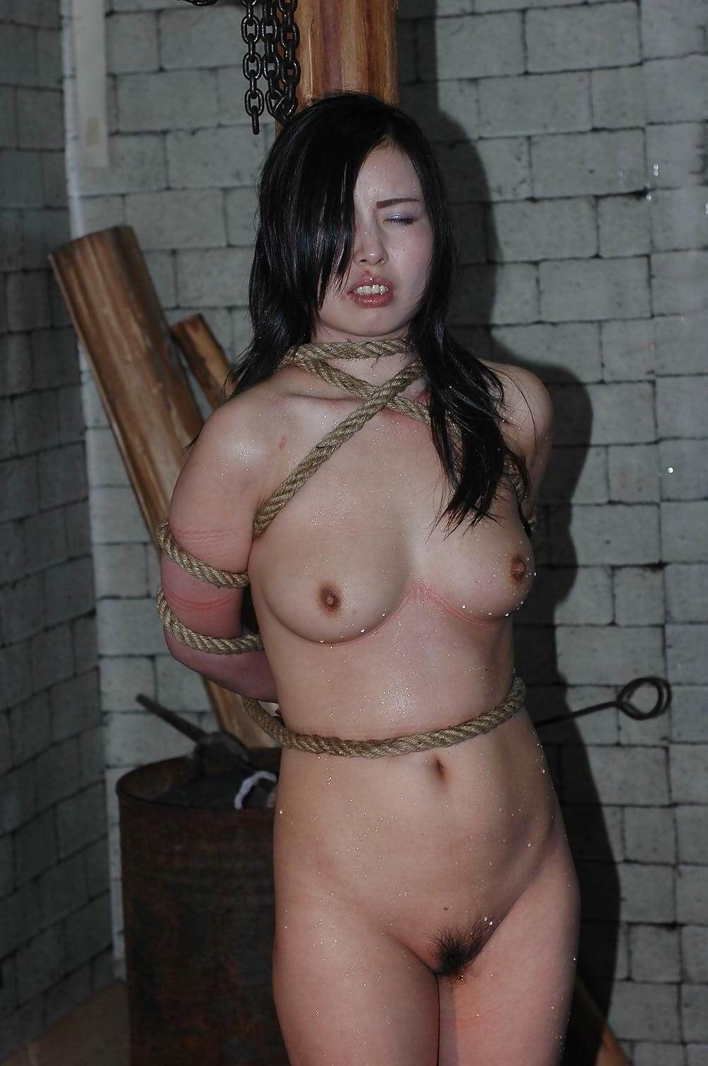 Asian wife otngagged bondage