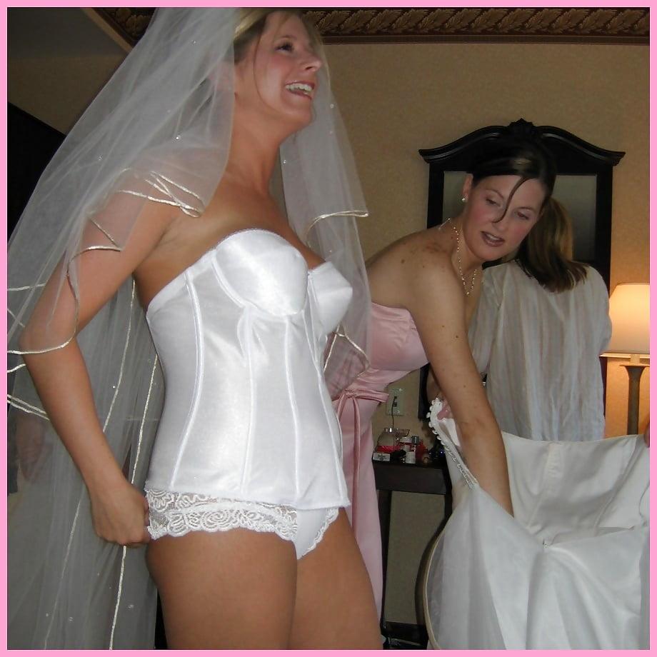 как невеста одевает нижнее белье частное фото - 12