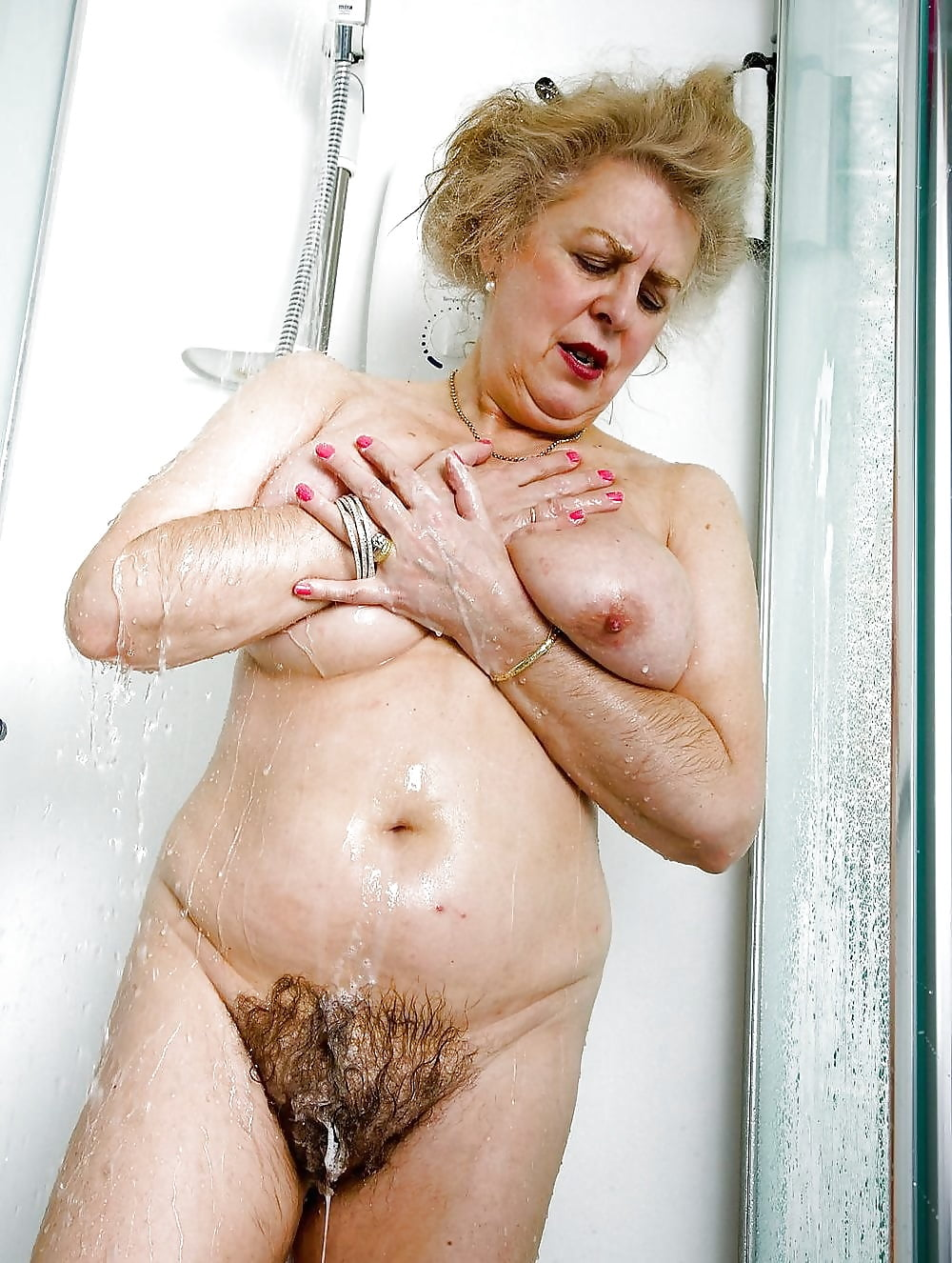 Old hairy granny pussy cumming