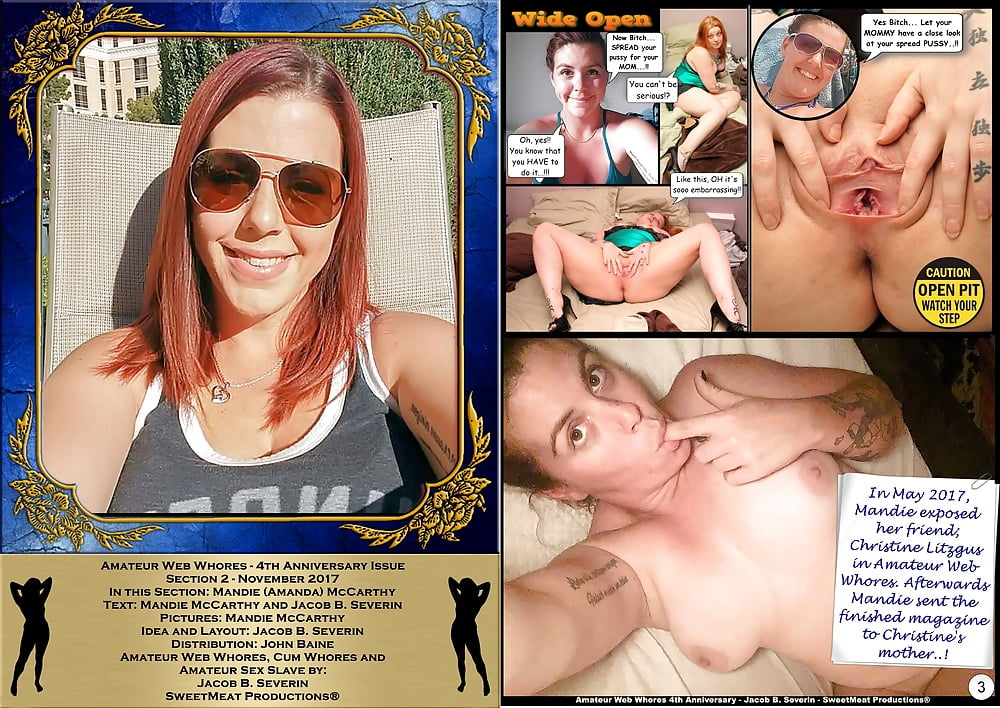 Amateur Web Whores - 4th Anniversary Issue - Amanda McCarthy (1/7)