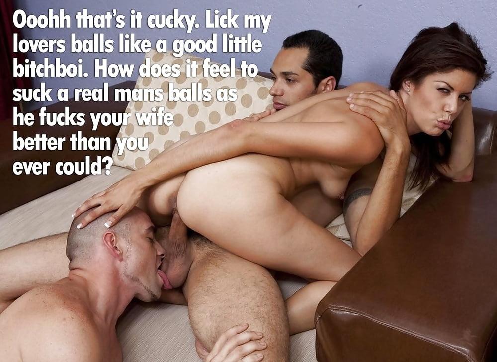 Wife threesome cumeating